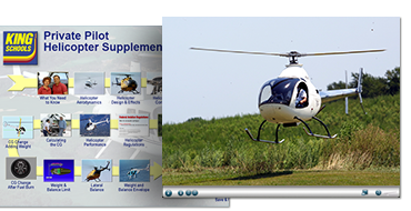 Private Pilot Helicopter Supplement Course - DVD PC
