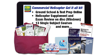 Commercial Pilot Helo Get It All Kit - DVD for PC