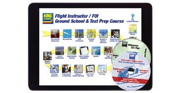 CFI/FOI <br />Ground School and Test Prep Course / Helo Supp. Bundle - Online/Disc