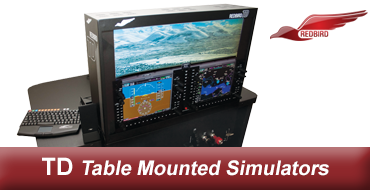 Redbird TD2 G1000 Interchangeable Panel Simulator