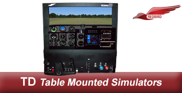 Redbird TD2 Analog Gauge Interchangeable Panel Sim