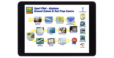 Sport Pilot Airplane <br />Ground School & Test Prep Course - Online Course