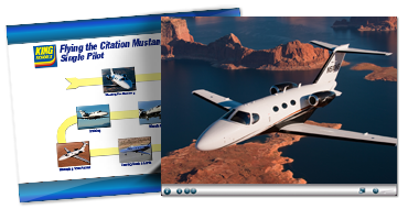 Flying the Citation Mustang-Single Pilot - Online Course