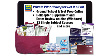 Private Pilot Helo Get It All Kit - Online/Disc PC
