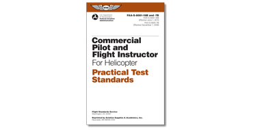 Commercial Pilot & CFI - Helicopter PTS - Book
