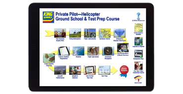 Online Private Pilot Helicopter Ground School & Test Prep