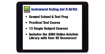 Online Instrument Rating Get It All Kit
