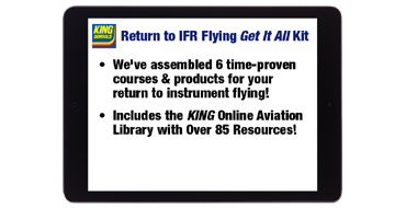 Online Return to IFR Flying Get It All Kit