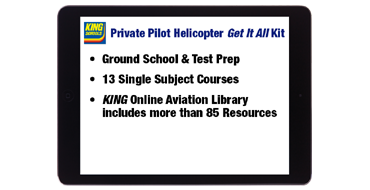 Online Private Pilot Helicopter Get It All Kit
