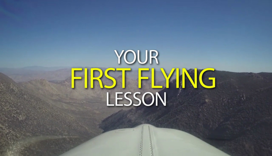 Picture of Your First Flying Lesson
