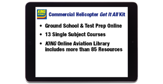 Commercial Pilot Helicopter Get It All Kit