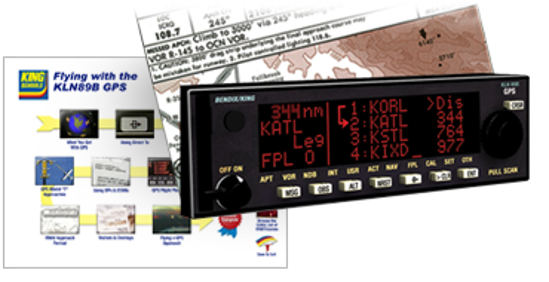 Flying with the KLN89B GPS