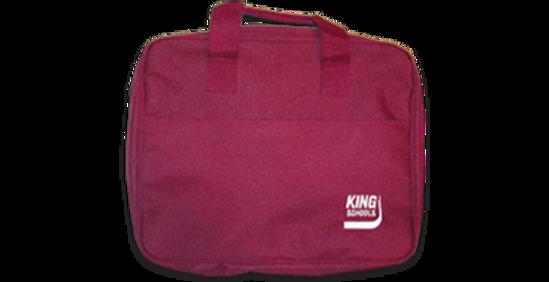 KING Burgundy Tote Bag