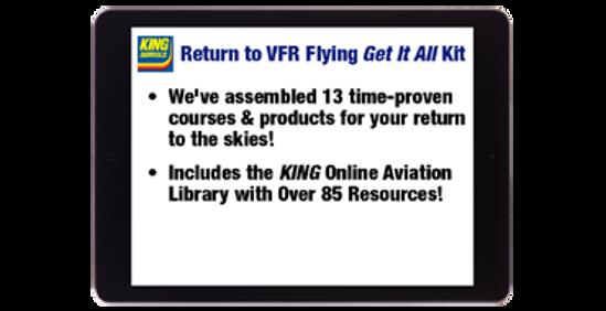 Return to VFR Flying Get It All Kit