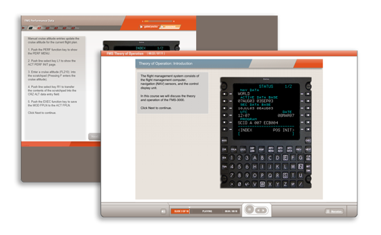 FMS-3000 Flight Management System Level 1 Operators