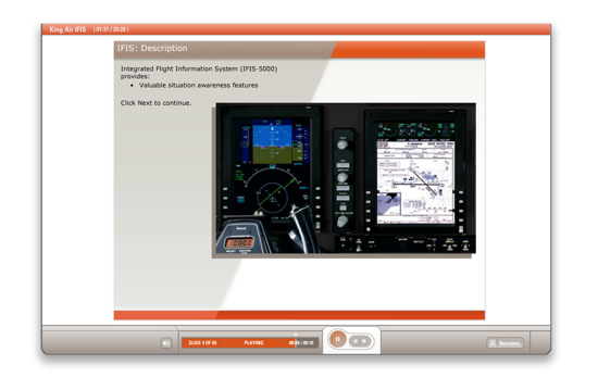 IFIS-5000 Integrated Flight Information System Level 1