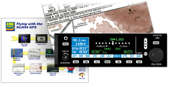 Flying with the KLN94 GPS