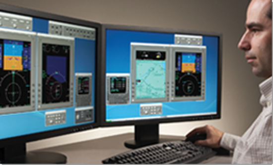 King Air 350 Pro Line 21 w/IFIS and WAAS FMS Desktop Trainer