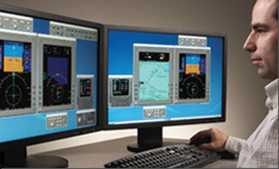 CL650 Pro Line 21 FMS Desktop Trainer