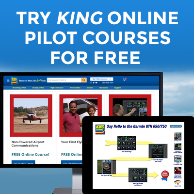 Try KING Online Pilot Courses For FREE