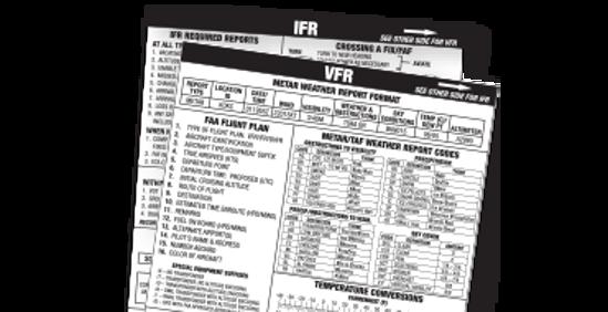 VFR/IFR Cockpit Card