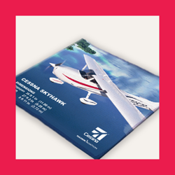 Cessna Cleaning Cloth for Mobile Devices - Kit Version