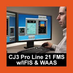 CJ3 Pro Line 21 FMS Desktop Trainer w/IFIS & WAAS