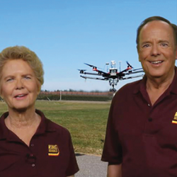 Using LAANC to Fly Drones in Controlled Airspace